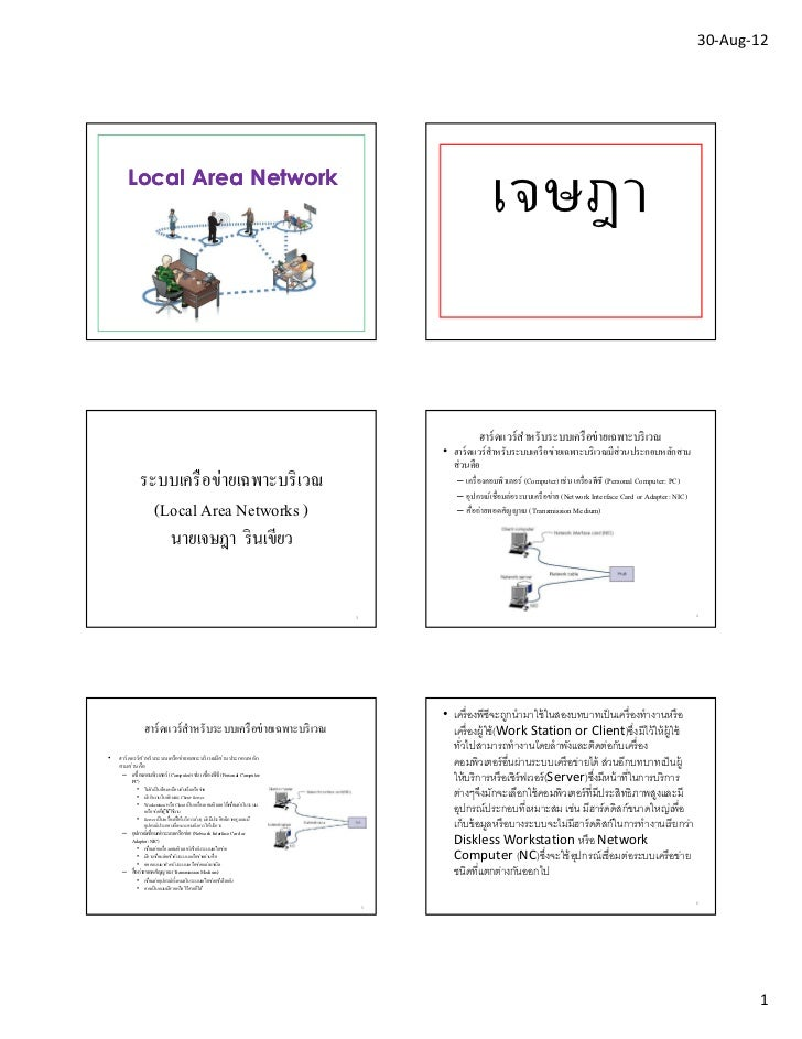 30-Aug-12        Local Area Network                                                                                       ...