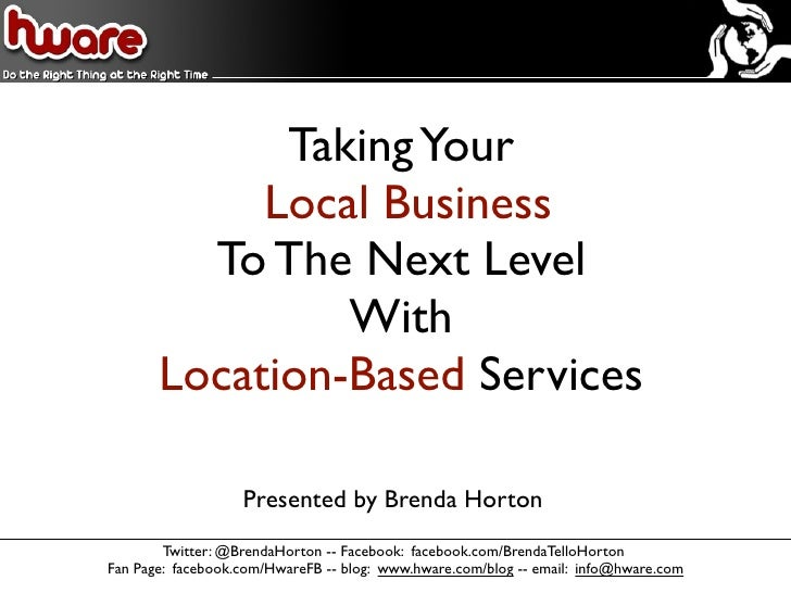 Taking Your Local Business to Higher Level with Location Based Services
