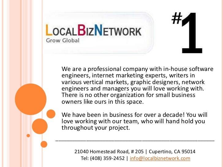 LocalBizNetwork's Services