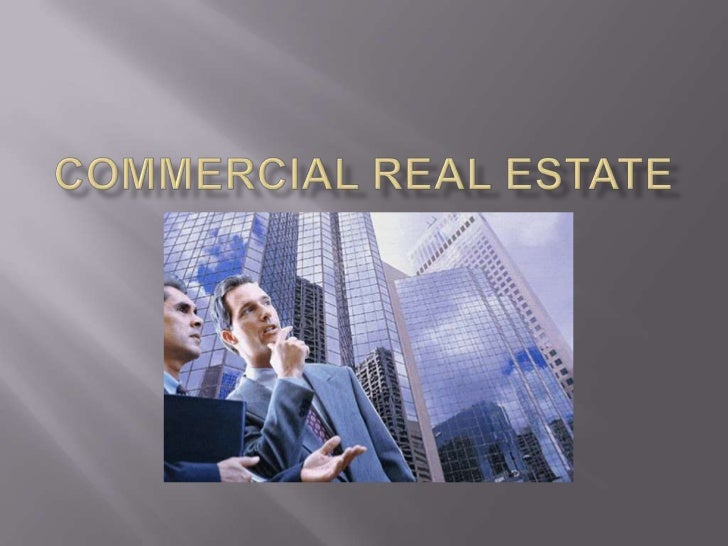 Commercial real estate<br />