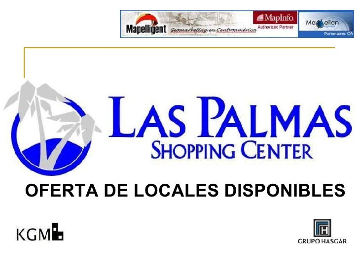 OFERTA DE LOCALES DISPONIBLES