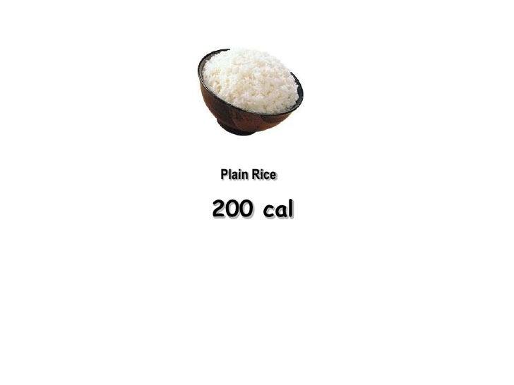 Plain Rice200 cal