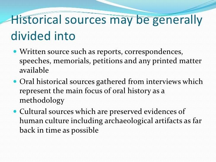 Reasonable interpretation of history?