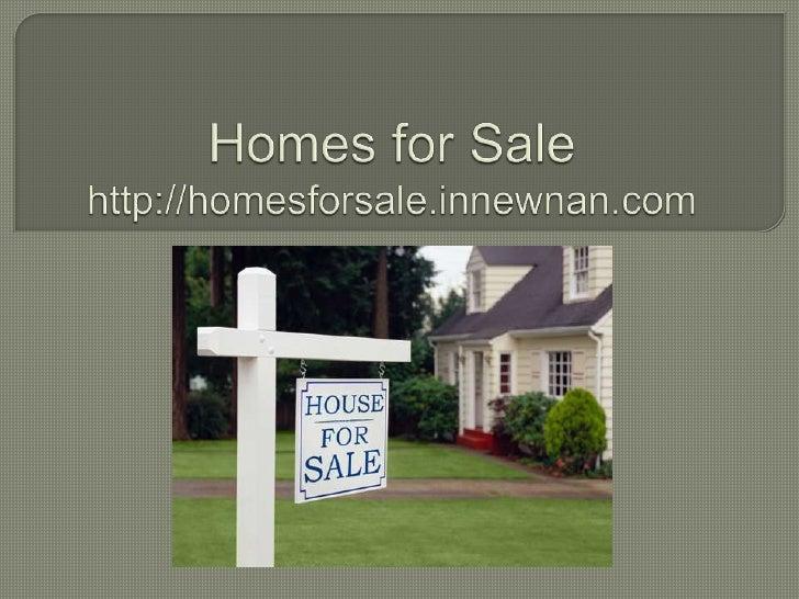 Homes for Salehttp://homesforsale.innewnan.com<br />