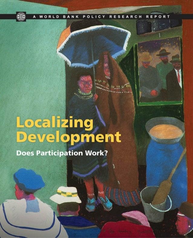 Localizing development. Does Participation work?