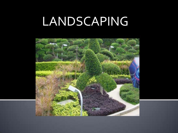 Local landscaping services