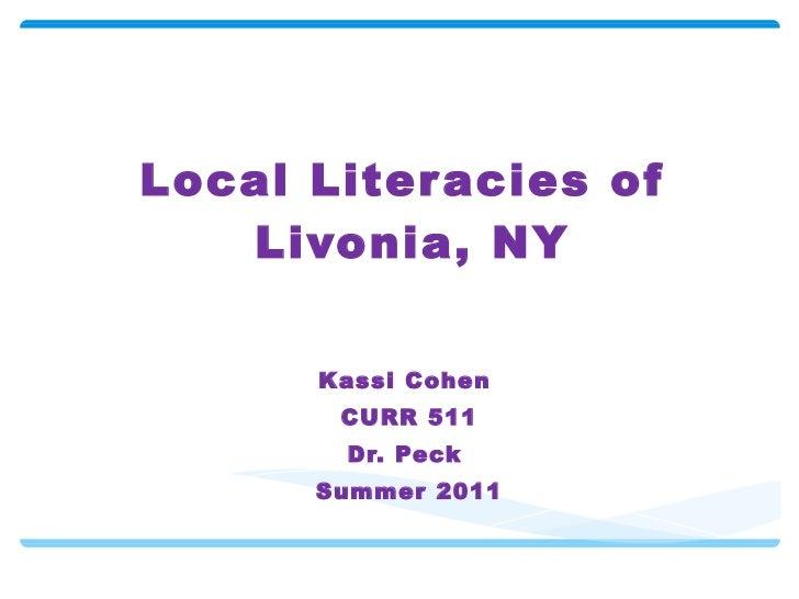 Local lit livonia