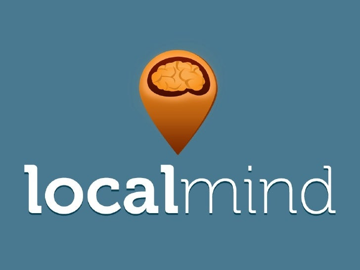 Localmind pitch at NewTech Montreal