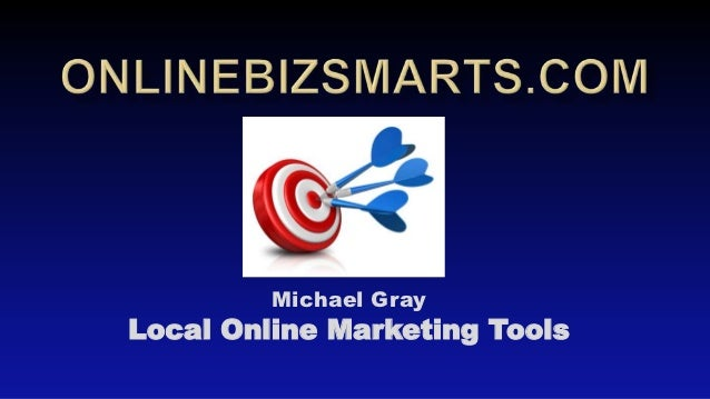 Local Online Marketing Tools