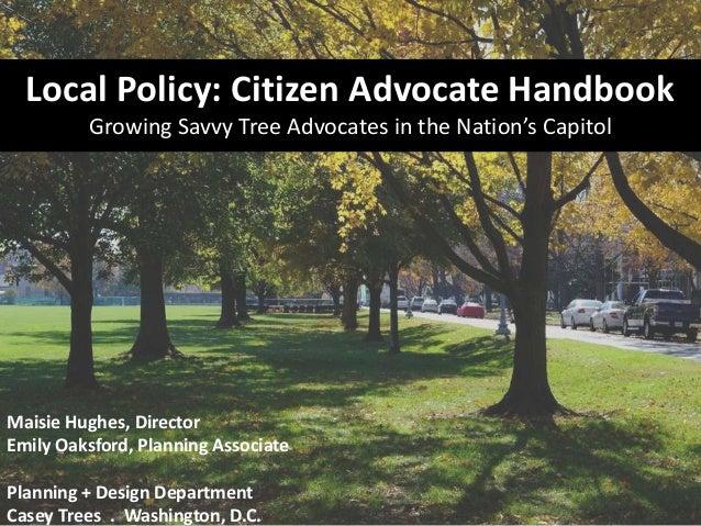 Casey Trees Tree Advocates Program
