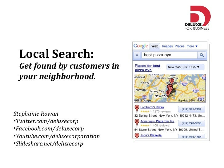 Local Search: Get Found by Customers in Your Neighborhood