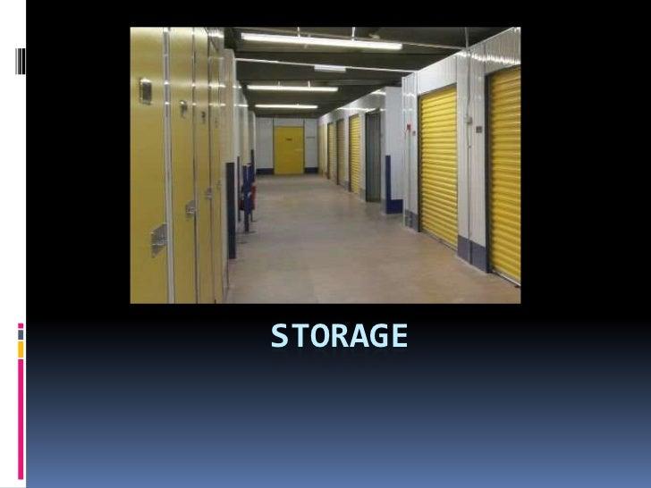 Storage<br />