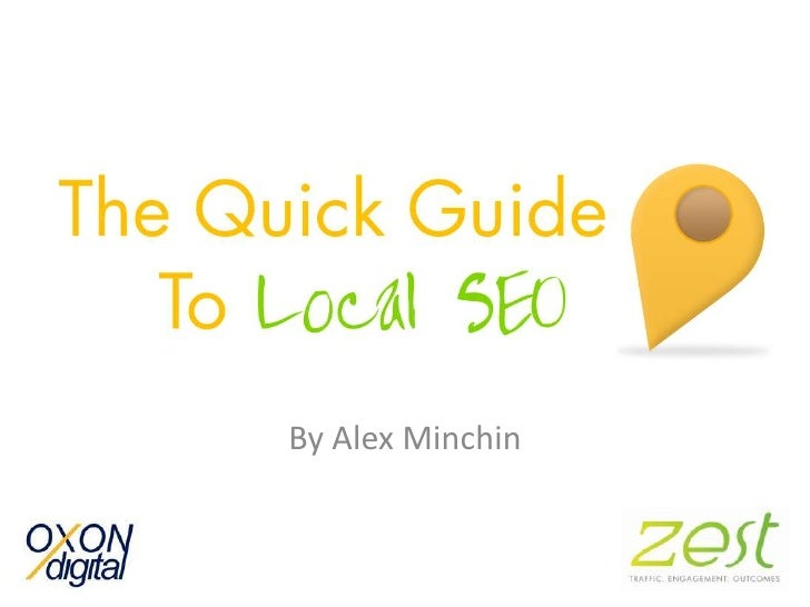 Local SEO - Alex Minchin - OxonDigital