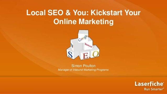 [VAR] Local SEO & You: Kickstart Your Online Marketing