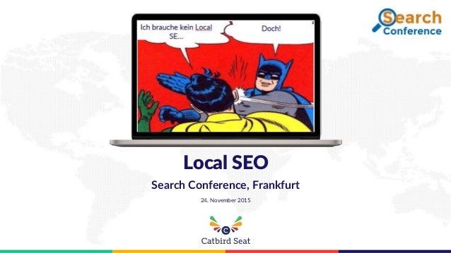 Local SEO Search Conference, Frankfurt 24. November 2015
