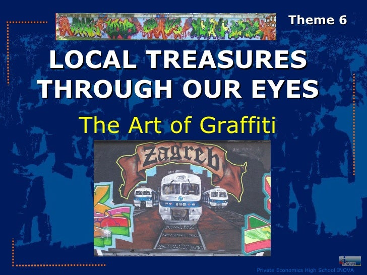 Local Treasures Through Our Eyes - made by students of Inova