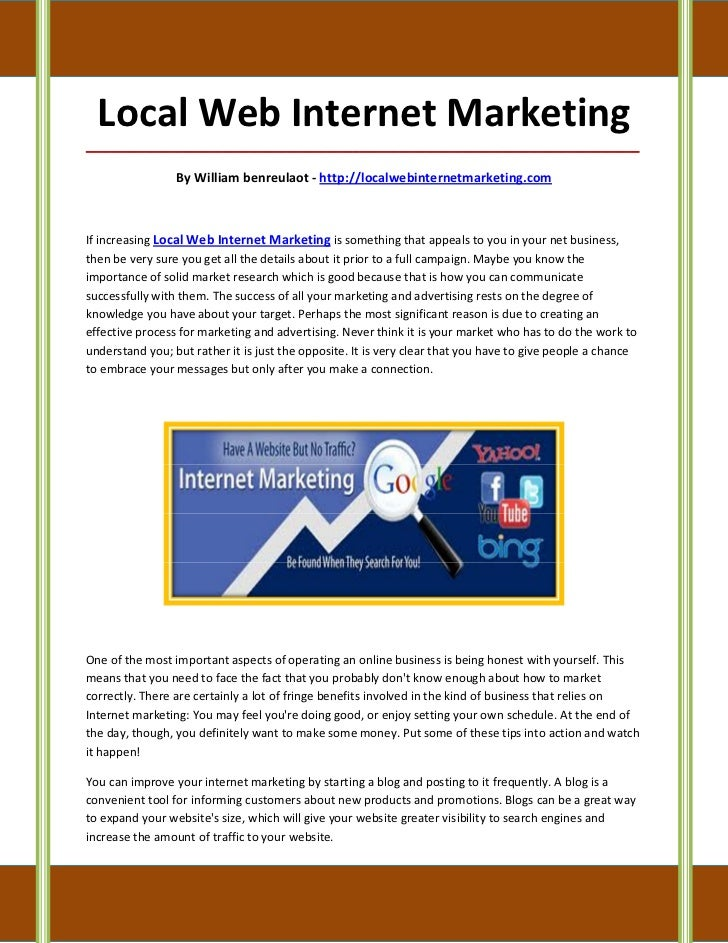 Local Web Internet Marketing_____________________________________________________________________________________         ...
