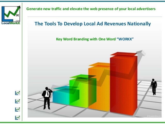 Generate new traffic and elevate the web presence of your local advertisers    The Tools To Develop Local Ad Revenues Nati...