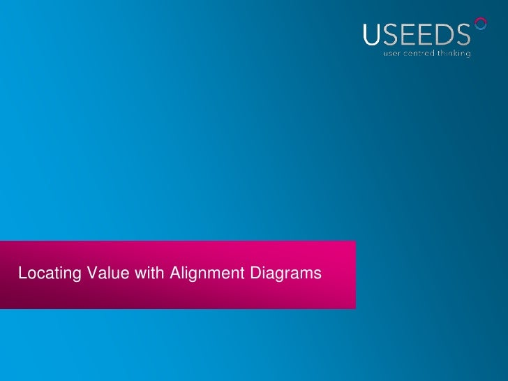 Locating Value with Alignment Diagrams