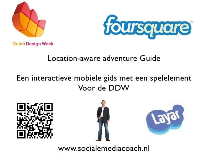 Location aware adventure guide for the dutch design week