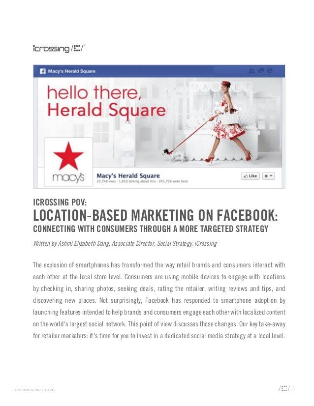 Location-Based Marketing on Facebook