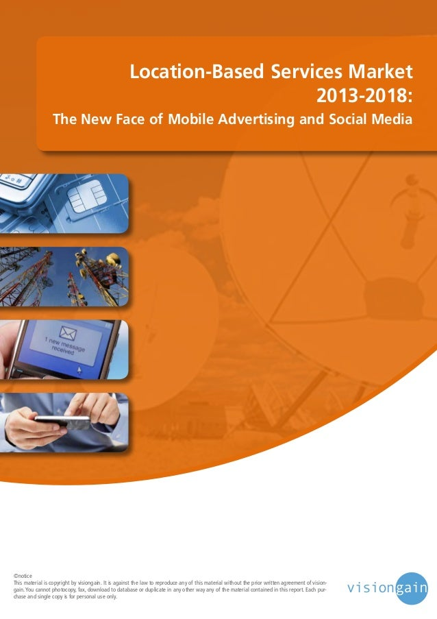 Location based services market 2013-2018