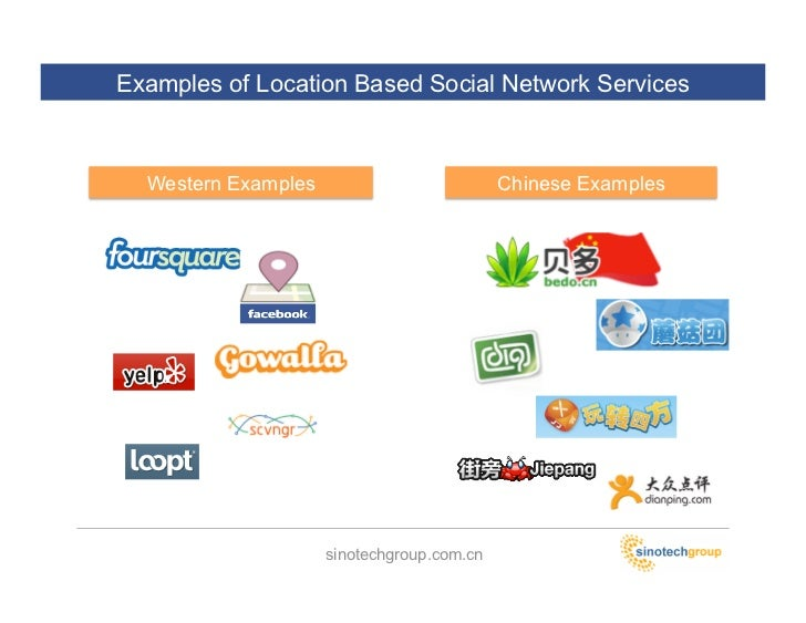 location based social networks