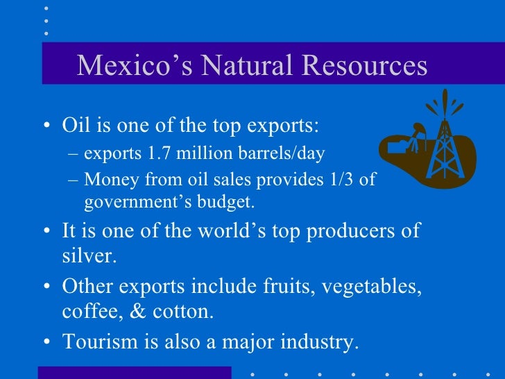 Oil And Natural Resources