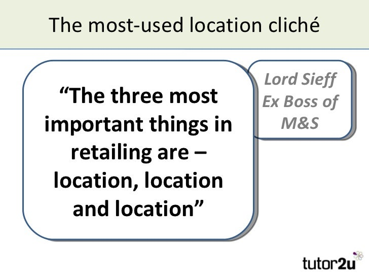 the location of businesses essay