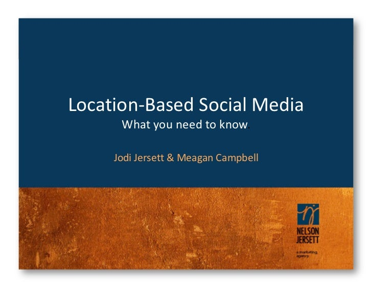 Location-Based Social Media (May 2011)