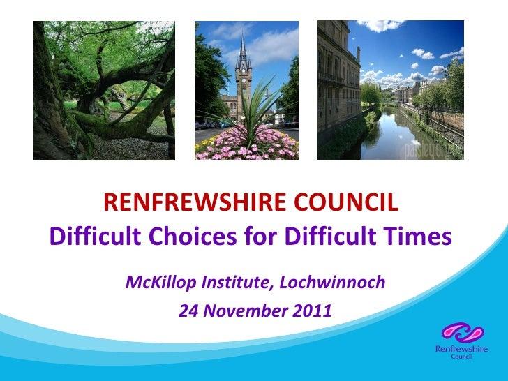 Lochwinnoch library presentation 24 11 10