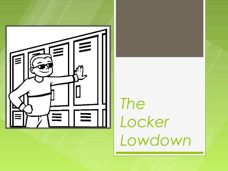 Locker Organization