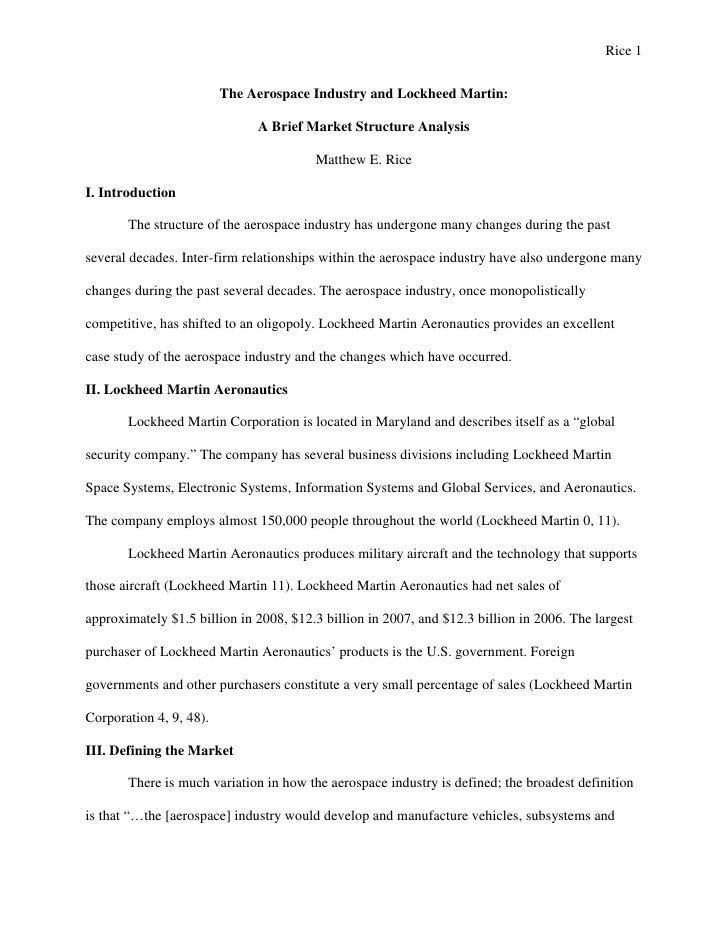 microeconomics research paper