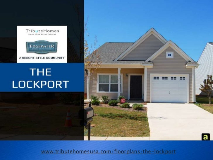 Tribute Homes presents The Lockport, a resort style community, South Carolina