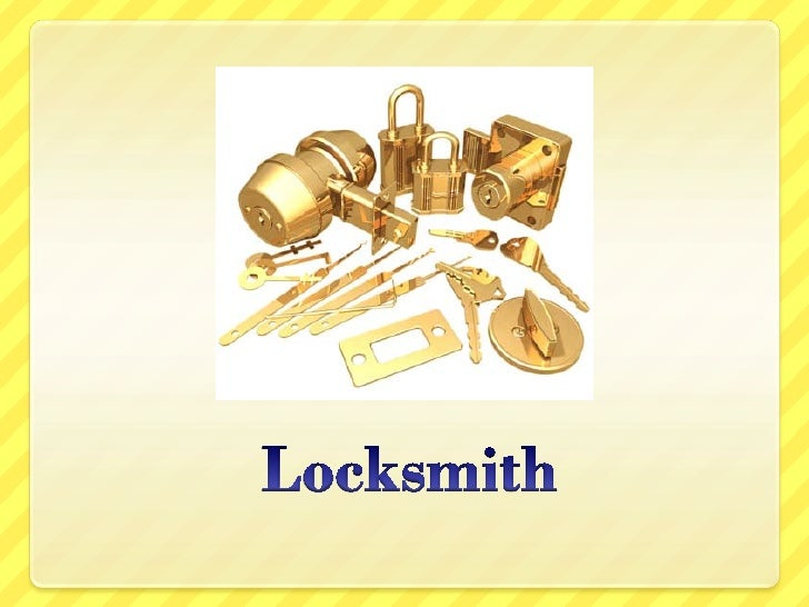 What is a locksmith?