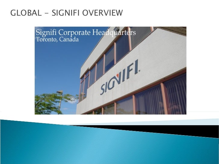 GLOBAL - SIGNIFI OVERVIEW
