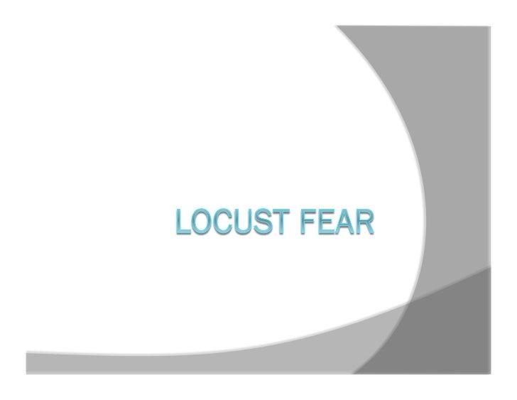 Locust Fear