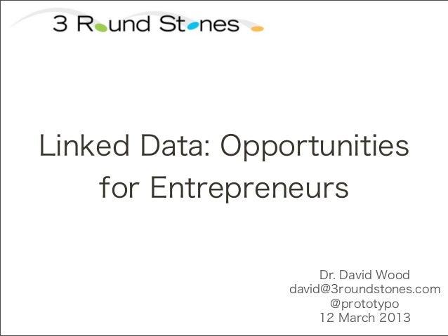 MIT CSAIL Linked Data Ventures Class: Linked Open Data for Entrepreneurs 2013