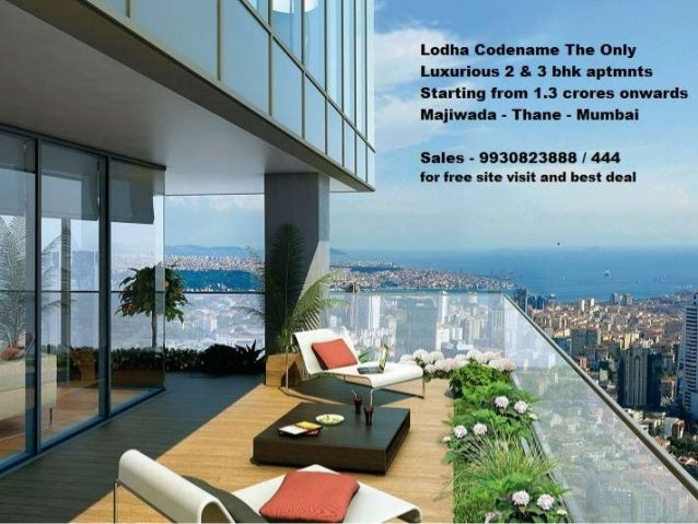 Lodha codename the only 9769793788 best deal in lodha the only