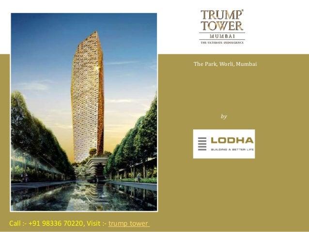 lodha trump towers worli mumbai