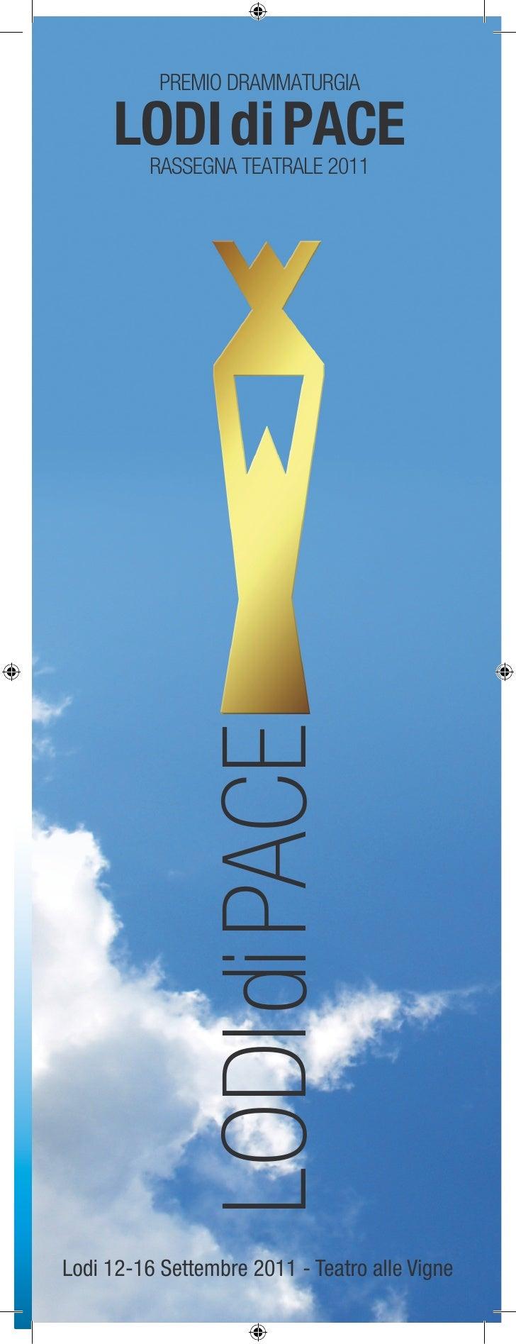 Lodi di pace