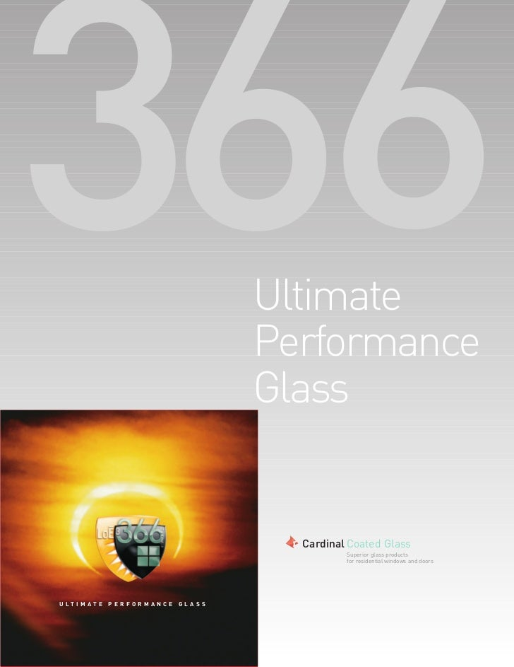 Ultimate                                  Performance                                  Glass                              ...