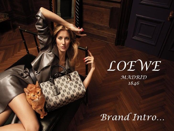 Loewe Brand Intro