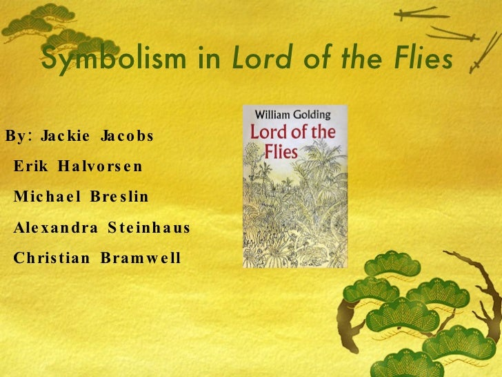 thesis about symbolism in lord of the flies