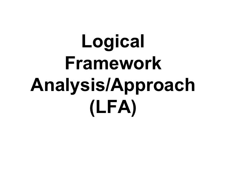 Log frame-analysis