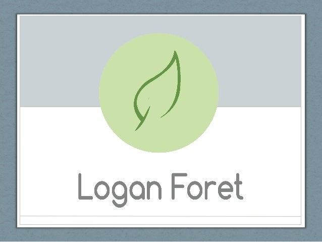 Logan Foret - Portfolio