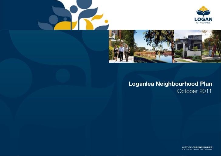 Loganlea Neighbourhood Plan                October 2011