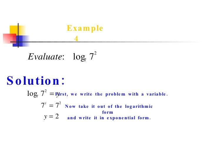 How do I rewrite e^8=x into Logarithmic Equation?