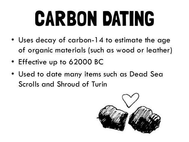 Carbon dating flaws