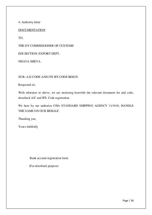 Authorization Letter Sample To Collect Document Images